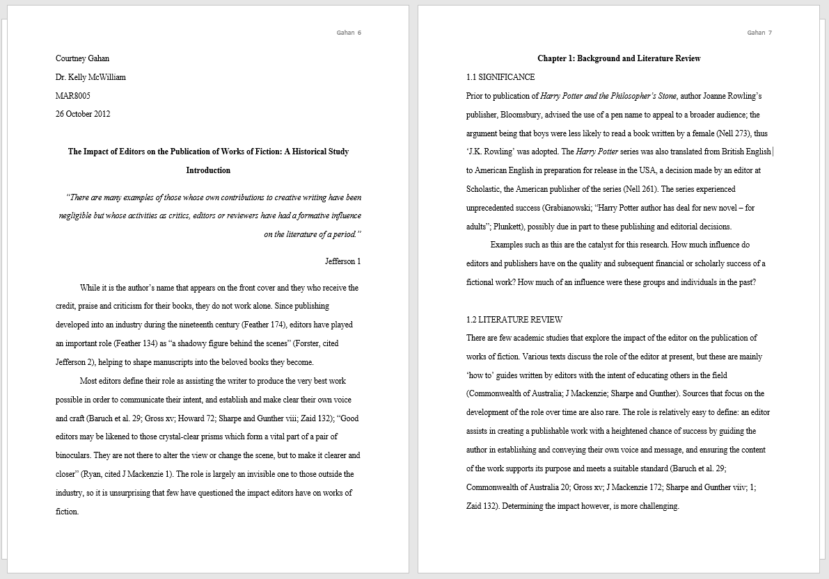 Mla Format Template  Eight And Most Recent Edition Mla Format Sample