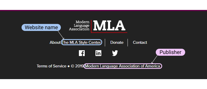 How To Cite A Website In Mla In Text And Works Cited Examples