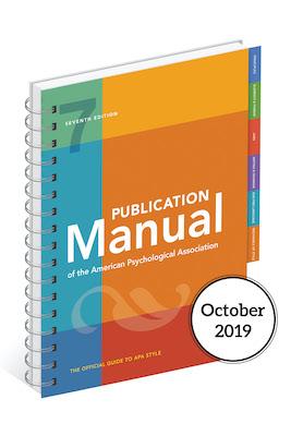 APA handboek 7de druk