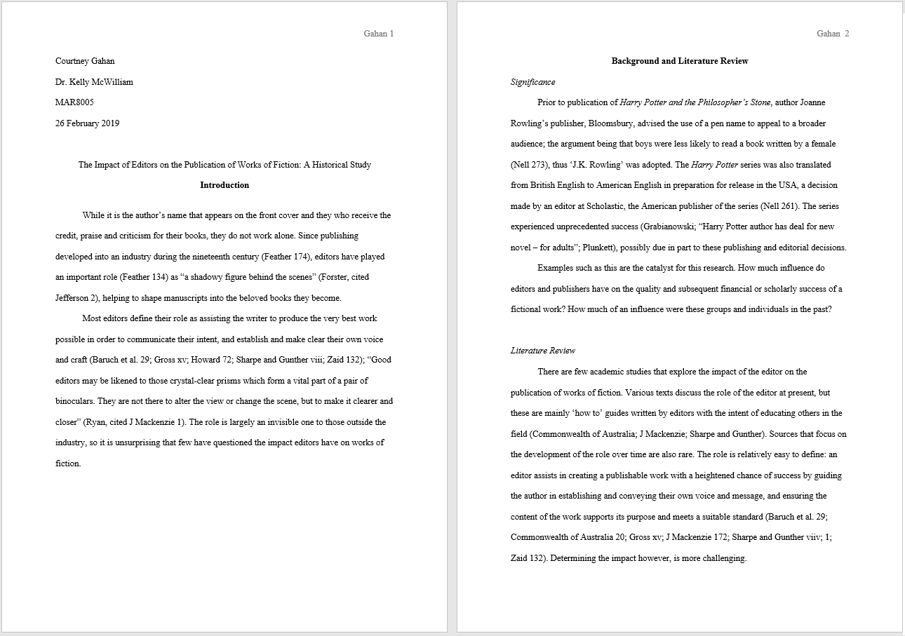 Mla format essay multiple writers